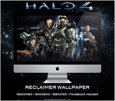 Halo 4 - Reclaimer Wallpaper by Crussong