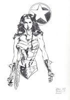 Wonder Woman Con Sketch by DrewEdwardJohnson