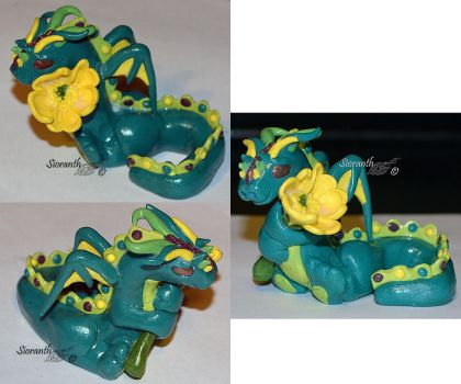Buttercup Dragon by sioranth