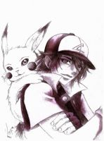 My version for Ash and Pikachu by watanabekeiko