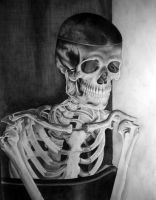 Skeleton From The Closet by ModernGrendel