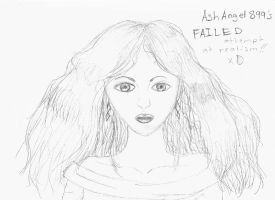my failed attempt at realism by AshAngel899