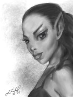 Cute Elf by digistyle
