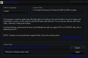 Win7 Theme Loader App For .msstyles by ZombieGroundSquirrel