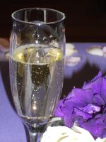 Champagne and Purple by 10000Greetings