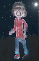 Marshall Lee in the nigth by leoncilo99
