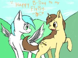 Happy B-day to my sister, abray10!! by Bluebird9209