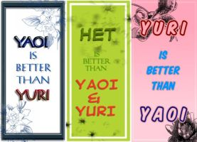 Yaoi/Het/Yuri is better... by Klebkatt