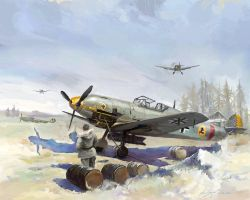 Me109 Easten Front by LotharZhou