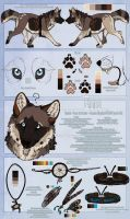 .: Emma Official Sheet Ref 2013 :. by SillyTheWolf