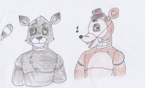 Five nights at freddy's adoptable #3 1/2 CLOSED by Lil-miss-galaxy