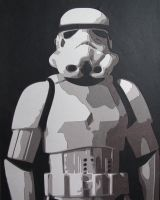 Storm Trooper by Papergizmo