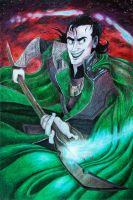 The God of Mischief by Amessicle