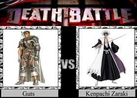 Guts vs. Kenpachi Zaraki by JasonPictures