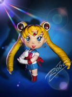 Sailor Moon nendoroid by robersilva