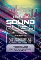 Sound Rush Flyer by styleWish
