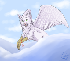 White Crow by WindaWolf