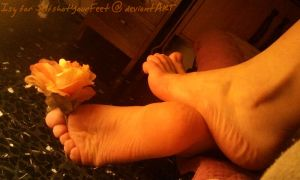 2 Perfect Feet n a Flower 4 U by SelfshotYourFeet