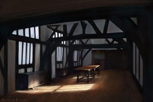 Interior study by Narholt