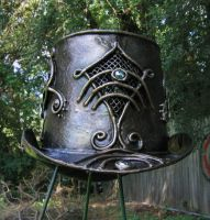 Greenman Top Hat, back by organicarmor
