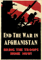 End the War in Afghanistan by poasterchild