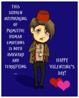 Doctor Who Valentine by Whyamithewerewolf