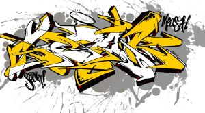 Graffiti Exchange with Seak (Surabaya, Indonesia) by TheDibsDibs