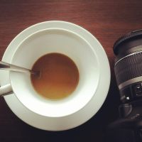 Coffee and Camera by tidiburr