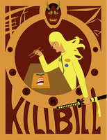 Kill Bill Movie Poster by 59-Raku