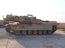 M1A1 Abrams OIF II 2004 by EricJ562