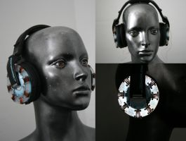 Iron man arc reactor headphone by DJ-JFunk
