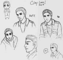 Clay Sketches X3 by MikuLance382