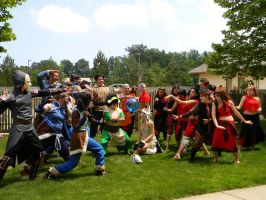 The Last Airbender Group - Colossalcon 2013. by EndOfGreatness