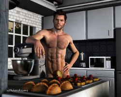 The sexy chef by sithlordsims