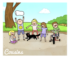 Cousins by cityfolkwebcomic