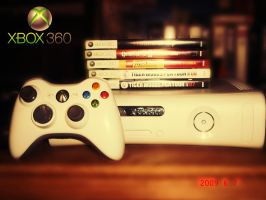Xbox 360 by Darkprincess92