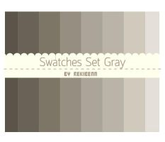Swatches set gray by TheSeekerReki