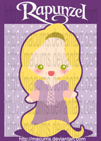 Chibi Rapunzel by macurris