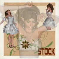 winter fae stock pack by Ecathe