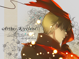 Arthur Kirkland Wallpaper by Hanitachawn