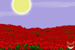 Field of Roses by Pedes-Nex