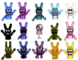 Bonnie Puppets by Enderkiller1987
