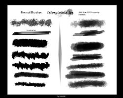 Et3rny Brushes set by Neoriek