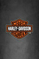 Harley Davidson Logo on Dark Gray WP by drouell