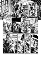 Van Helsing Vs. Jack the Ripper p.18 by BillReinhold
