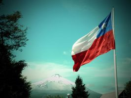 The pride of Chile by Izhin