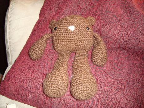 Lil' Bear Bromigo by laurencrochets