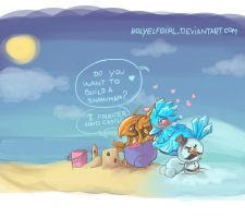Do you want to build a snowman by HolyElfGirl