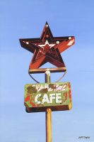 Star Cafe - Route 66 Texas by tvrespectsme