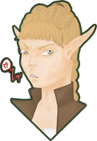 Sitmas grumpy-ass face by MeDeMeo